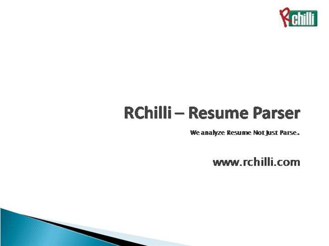 rchilli cv parsing hr software for res authorstream