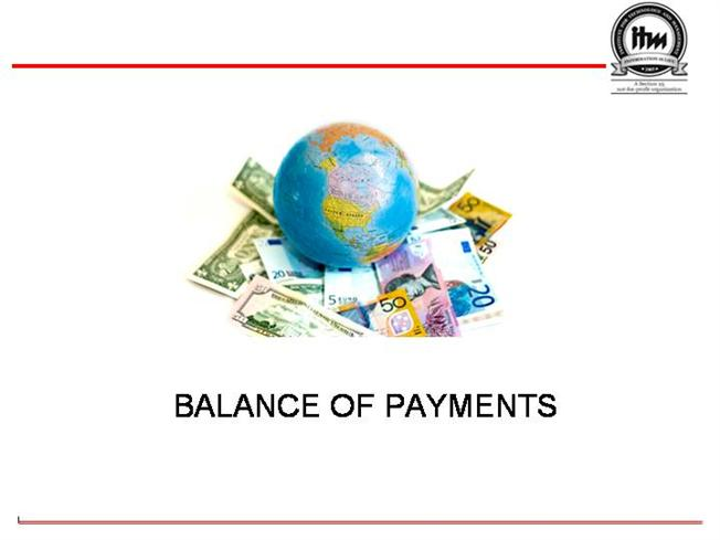 Balance Of Payments Authorstream