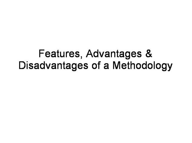 Waterfall model authorstream for Waterfall methodology advantages and disadvantages