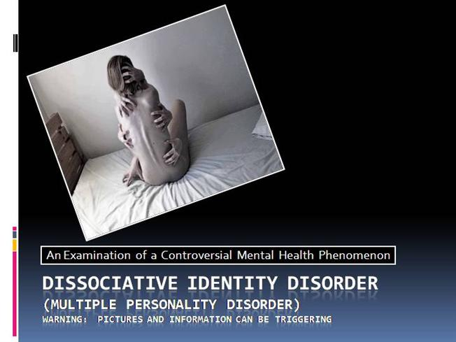 Dissertation Dissasociative Disorders Soldiers