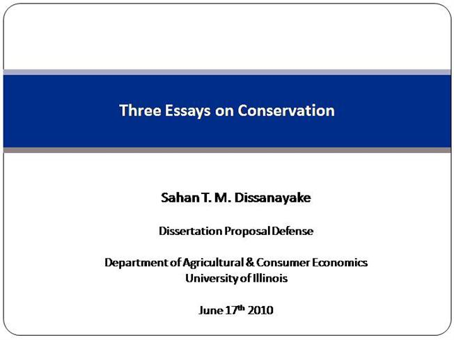 Thesis defense phd ppt
