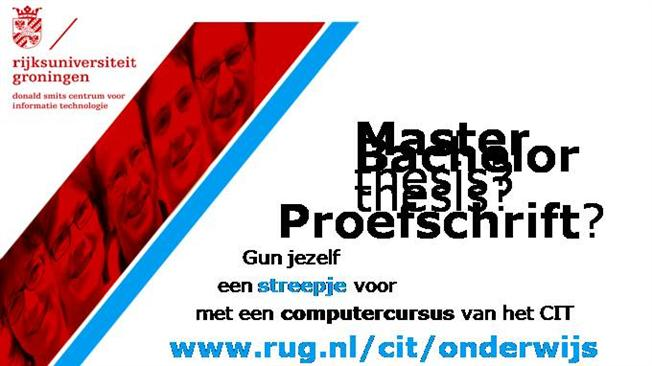 Rug master thesis