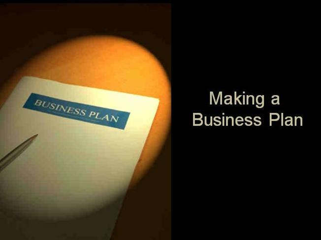 How Do You Make A Business Plan