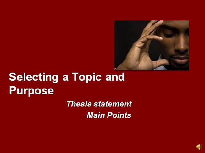 pro-con essay thesis statement