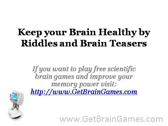 Brain Teasers Riddles Riddles And Brain Teasers