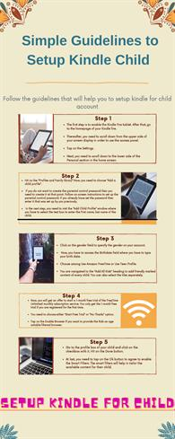 Simple Guidelines to Setup Kindle Child