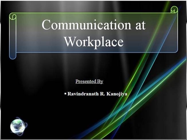 essay effective communication in the workplace