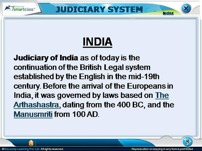essay on judiciary system in india