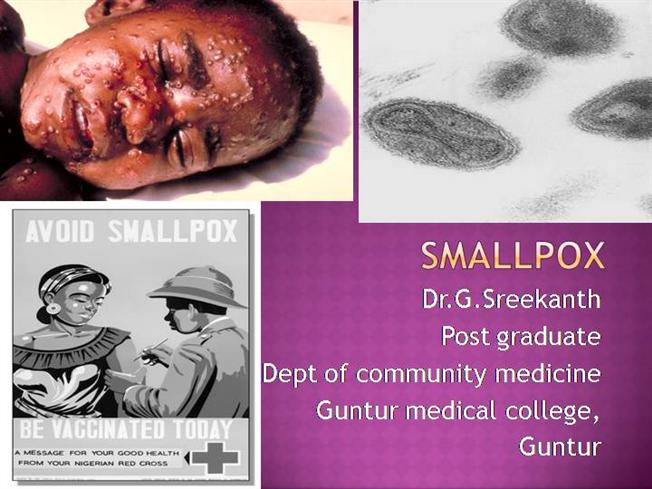 the use of small pox in Smallpox, a disease caused by smallpox biological warfare smallpox could fall into the hands of questionable individuals or groups who might attempt to use.