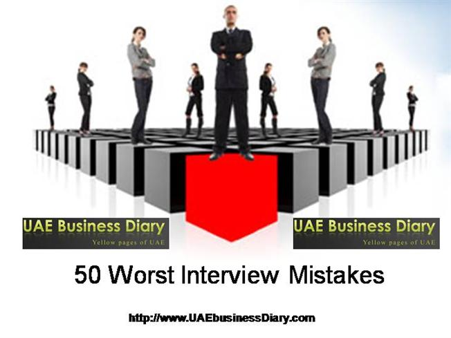worst interview mistakes of 2013 Here are our picks of the top 10 best and worst media interviews of 2013: earlier this year the 39-year-old star gave a bizarre and incoherent interview on the.
