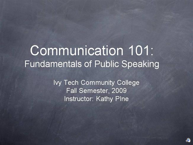 fundamentals of speech chapter 7 assignment Study flashcards on fundamentals of business law - chapter 11 at chapter 7  fundamentals of -when statute expressly prohibits assignment-when a contract.