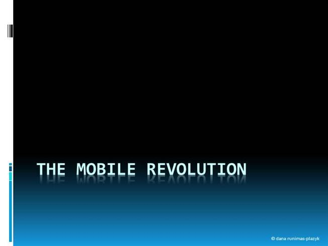the mobile revolution The mobile revolution smarter content new insight better outcomes john clifton cto, ecm, uk & ireland –minimize trips to the office for mobile workers.
