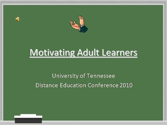 motivation for adult learners