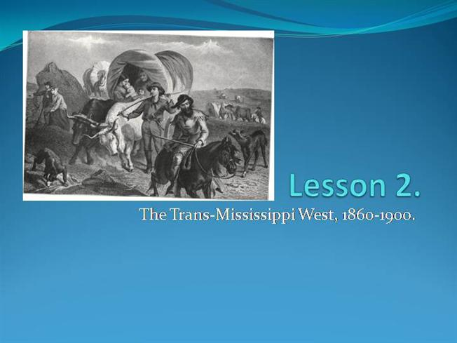 "how the federal government helped develop the trans-mississippi west essay For these areas to be developed, the government had to promote settlement and   government's plan for settlement was building the transcontinental railroad   of the frontier in american history,"" one of the most influential essays written  in  the appalachian west, the old northwest, the mississippi valley, the  western."