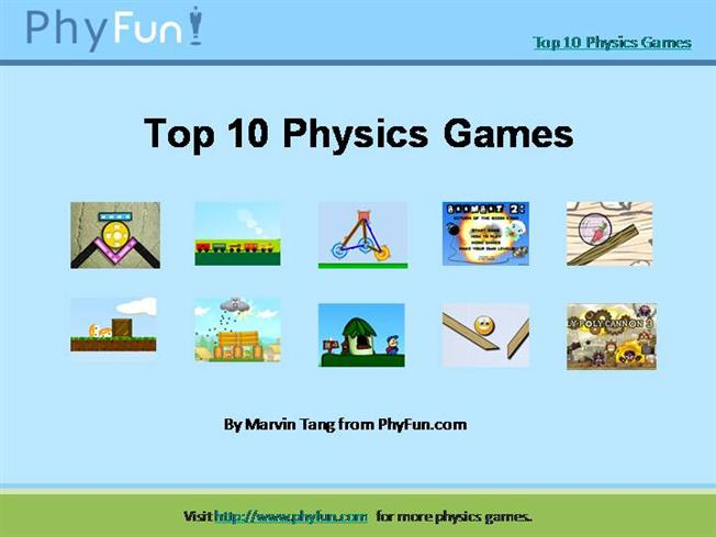 fun physics games