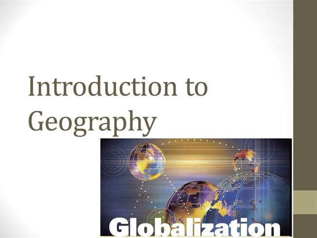 introduction of geography Buy introduction to geography 14th edition (9780073522883) by arthur getis and judith getis for up to 90% off at textbookscom.