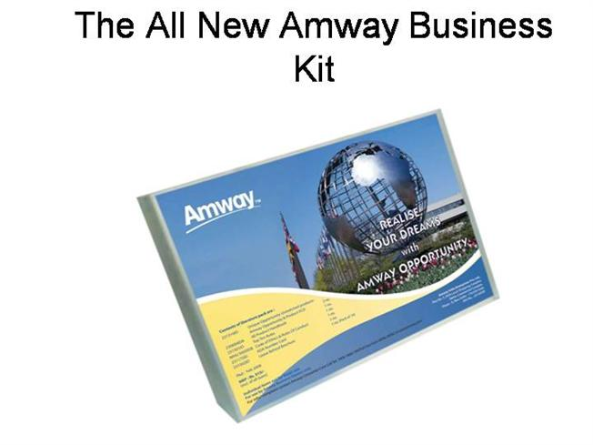 Amway Business Plan Presentation In Hindi