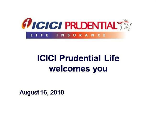 study of marketing of icici prudential life insurance essay Comparative analysis of icici and pnb marketing essay  the prime objectives of the study are: (i)  life and non-life insurance,.