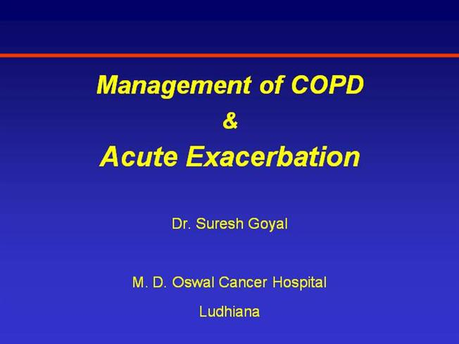 COPD - A Case Presentation - YouTube