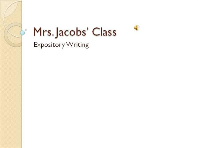 types of expository essays powerpoint The words you type- social media expository essay genre write an essay explaining whether a person must always be acknowledged in order to have accomplished.