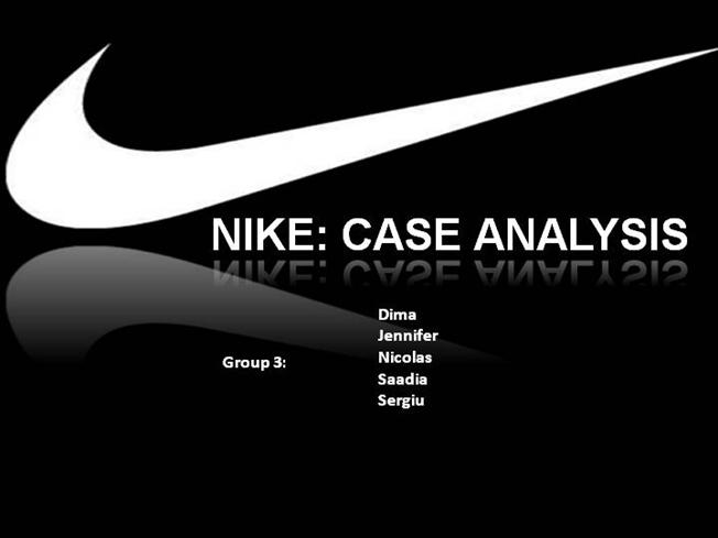 nike channel conflict case study Marketing management distribution channel conflict of nike this case study gives a detailed report on the channel conflict of nike in usa and also the currents scenarios and strategies of the company.