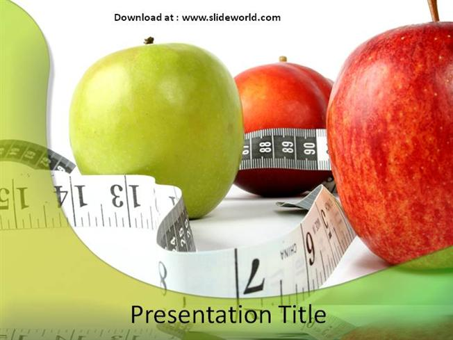 healthy diet powerpointppt templatesppt template for