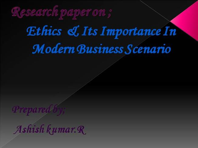 Ethics of buying term papers