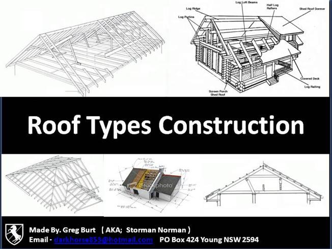3 Types Of Roof Costruction Authorstream