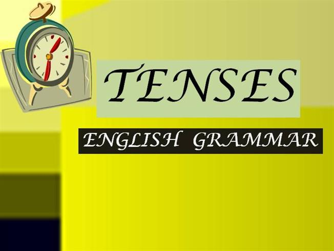 tenses an overview authorstream