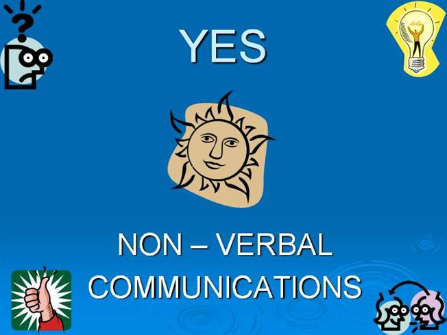 Verbal Communication Powerpoint Non-verbal Communication