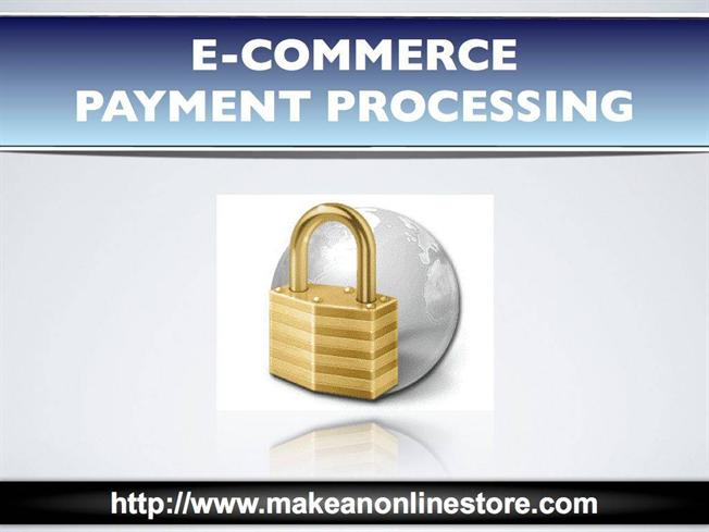 e commerce payment Commerce using the internet relies solely on trust users will not use systems that they believe are insecure this chapter presents best practices compliant with the payment card industry (pci) guidelines pci compliance is mandatory for merchants, third party processors, and service bureaus - not.