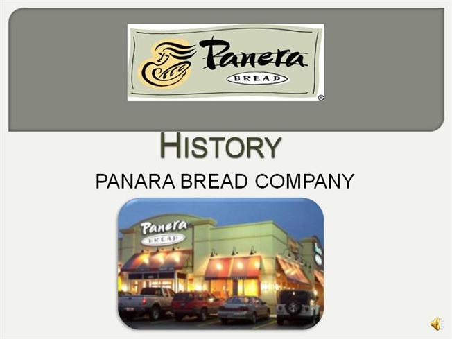 panera ppt Other aspects of this ministry include treats and bread–panera bread   someone to run the sound board, someone to run the powerpoint slides and yet  another.
