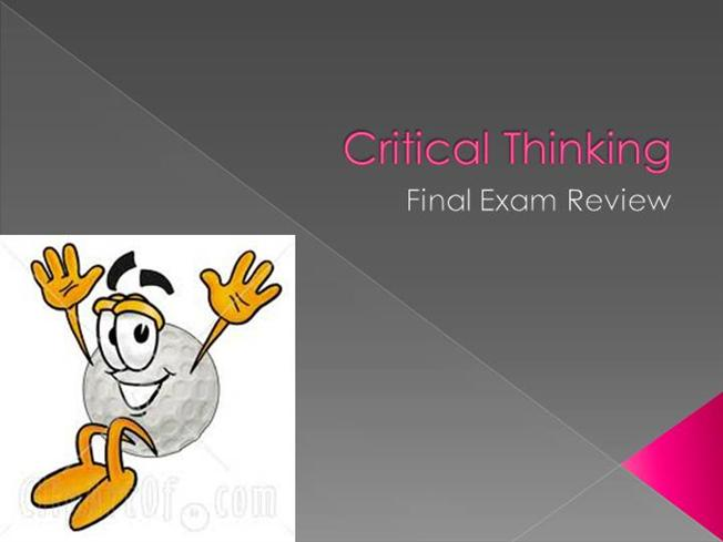 critical thinking book review This presentation by dan gutterud, a graduate student at bemidji state university, is a review of the book--how to improve student learning--by dr richard paul and.