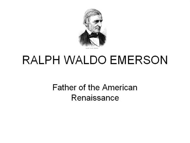 ralph waldo emerson oversoul essay Ralph waldo emerson nature nature a subtle chain of countless rings the next unto the farthest brings the eye reads omens where it goes, and menu.