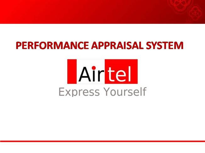 performance management system of airtel 1 designing, deploying, and using an organizational performance management system in public health: cultural transformation using the pdca approach.