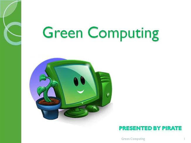 concepts of green it and green computing Abstract : green computing, also called green technology, is the  green  computing whose goals are to reduce the use of  the concept originated with  the.