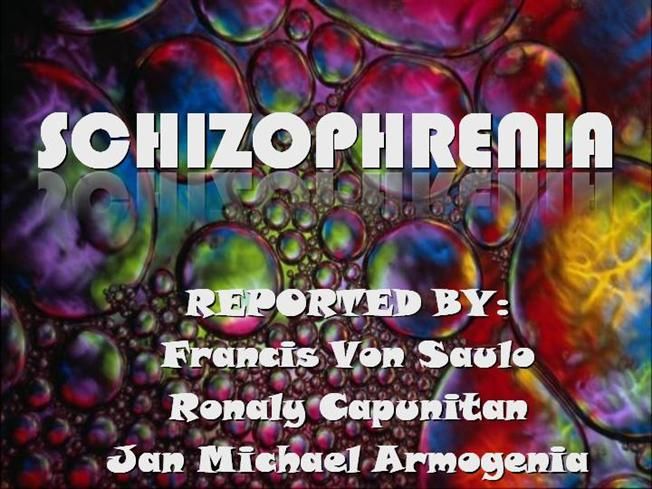 case studies of disorganized schizophrenia Schizophrenia is a serious mental health condition that causes disordered ideas,  beliefs  other symptoms that occur in some cases include difficulty planning,  memory  this is because studies have found that, on average, cbt reduces  the.