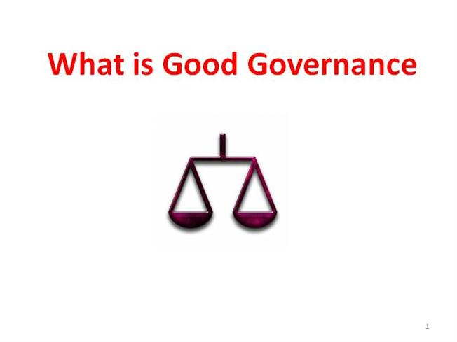 good governance Our board of directors believes that good corporate governance accompanies and greatly aids our long-term business success.