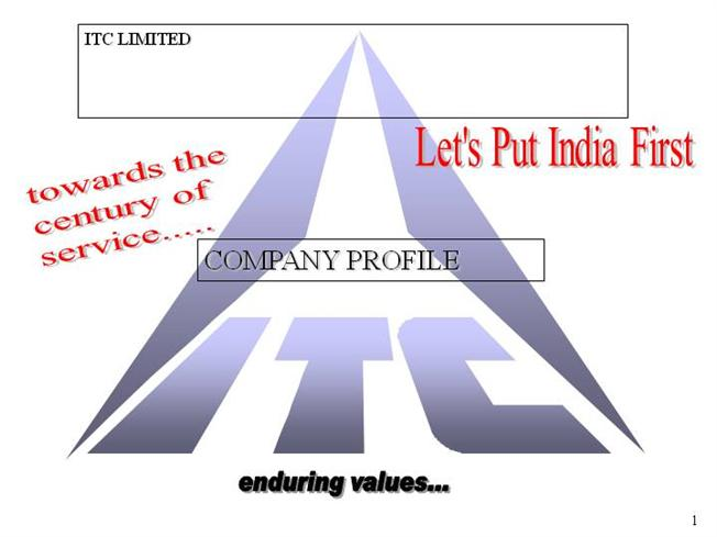 itc ltd business ethics Itc ltd (itc) was incorporated on august 24, 1910, under the name imperial tobacco company of india ltd to make cigarettes and tobacco in 1975, the company entered the hospitality business with t.