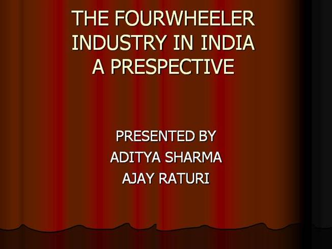 four wheeler industry in india Uncover how we address the needs of every facet of the automotive industry  dealers in india want closer collaboration with automakers on sales and marketing .