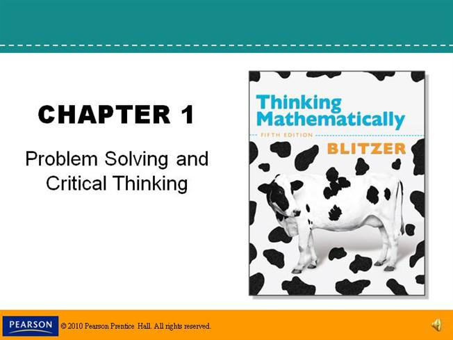 critical thinking problem
