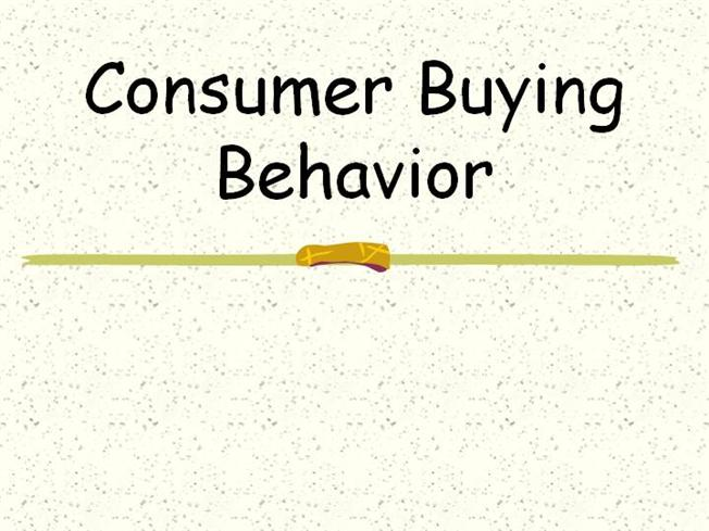 Start early and write several drafts about Customer buying habits