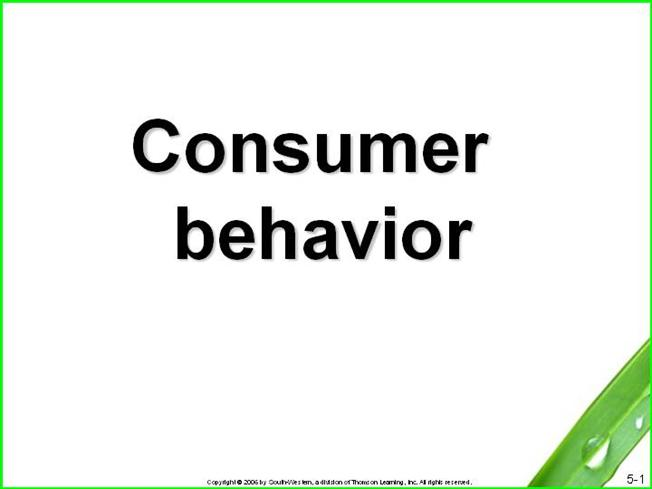 Consumer buying behaviour dissertation topics | Tomstin Realty