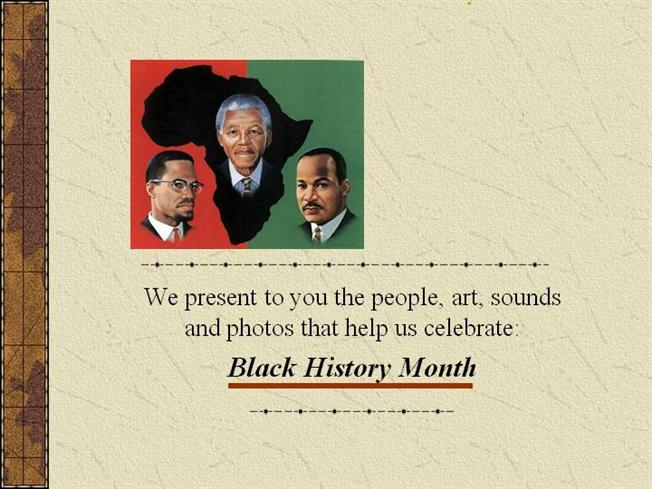 black history month powerpoint backgrounds