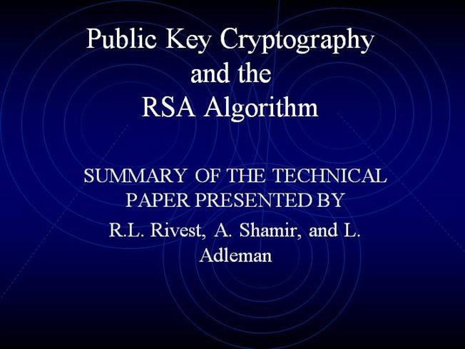 cryptography research papers Security requires constant and periodic changes to pace up and counter the threats that are ever increasing we will use blowfish algorithm with the secure socket layer v3.
