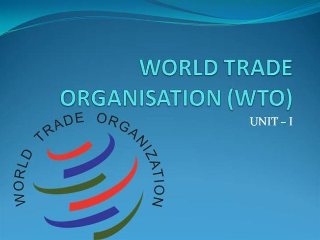 a description of the world trade organisation as the only international organization dealing with th The process of becoming a world trade organization (wto) member is unique to each applicant country, and the terms of accession are dependent upon the country's stage of economic development and the current trade regime.