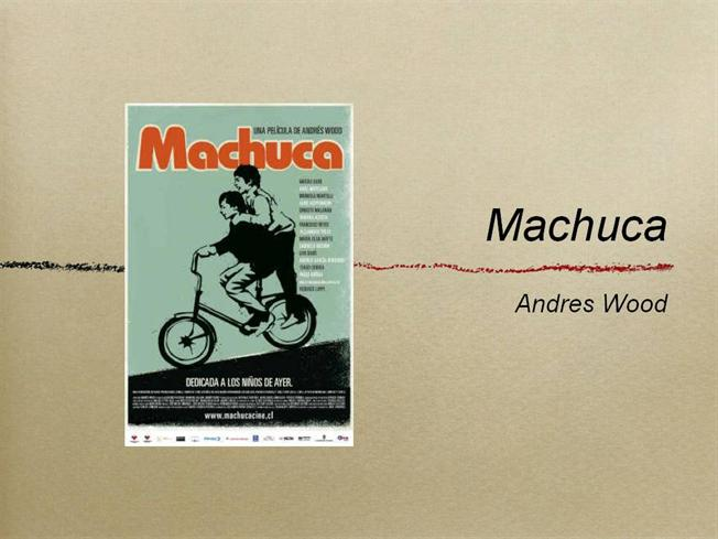 machuca analysis Sample of 'innocent voices' essay (you can also order custom written 'innocent voices' essay.