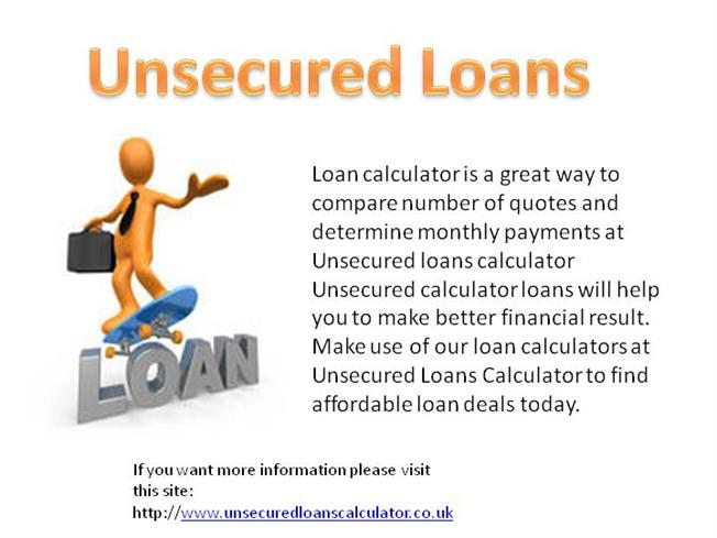 Unsecured Loans |authorSTREAM