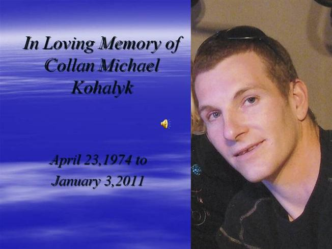 in loving memory of collan michael kohalyk authorstream. Black Bedroom Furniture Sets. Home Design Ideas