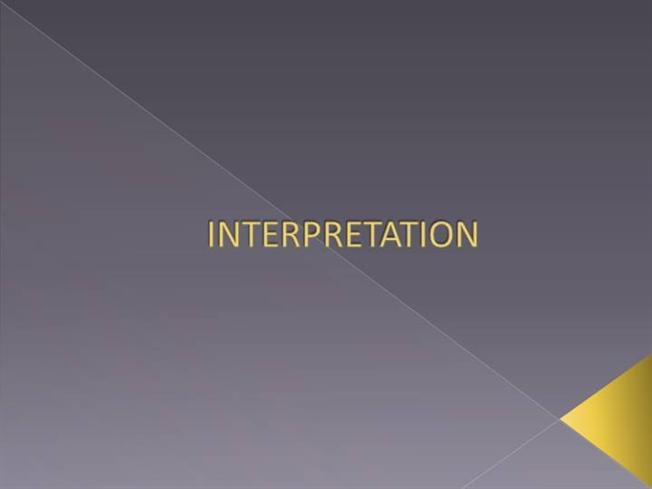interpretation in research methodology Constructive interpretation is a method of legal interpretation that aims to find a normative unity in the diversity of rules that characterize a legal system if so, is it sound, from a methodological point of view, to use dworkin's ideas on law as integrity as a starting point in legal research.